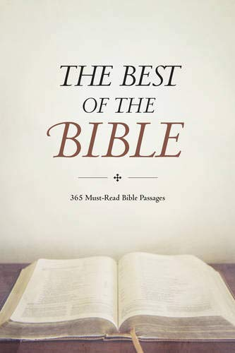 9781496411792: The Best of the Bible