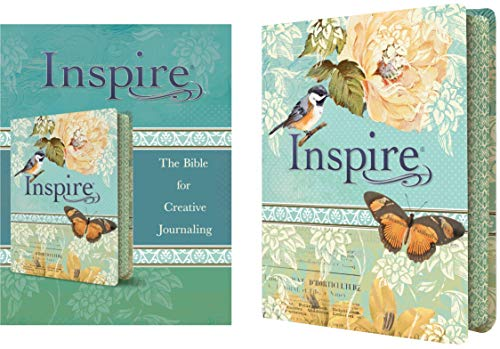 9781496413734: Inspire Bible NLT: The Bible for Creative Journaling