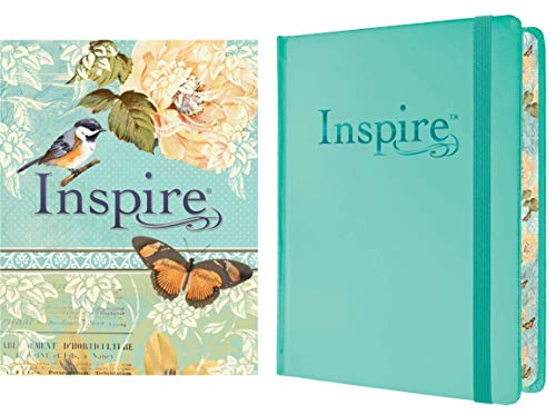Inspire Bible: The Bible For Creative Journaling, New Living Translation: Christian Art (cor)/ ...