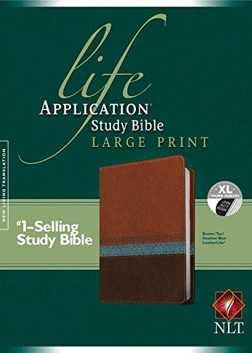 Life Application Study Bible NLT, Large Print: Tyndale House Publishers, Inc.