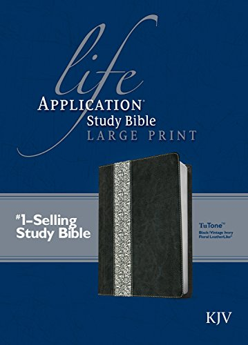 Life Application Study Bible KJV, Large Print: Tyndale