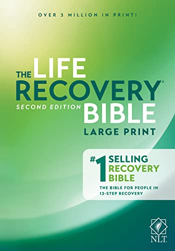 9781496427571: Life Recovery Bible NLT, Large Print