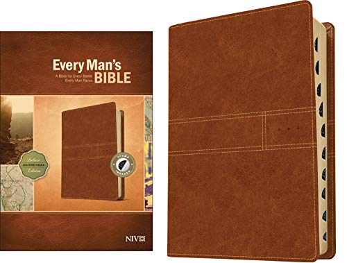 9781496433565: Every Man's Bible NIV, Deluxe Journeyman Edition