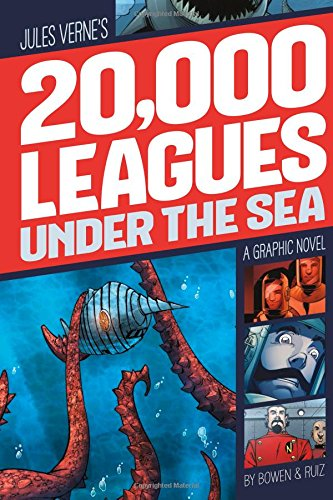 9781496500021: 20,000 Leagues Under the Sea (Graphic Revolve: Common Core Editions)