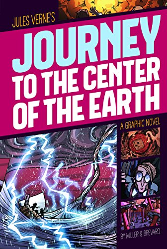 Journey to the Center of the Earth (Graphic Revolve: Common Core Editions): Verne, Jules