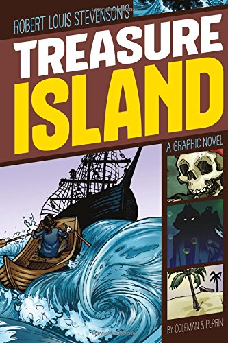 9781496500274: Treasure Island (Graphic Revolve: Common Core Editions)
