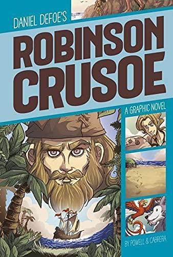 Robinson Crusoe (Graphic Revolve: Common Core Editions): Defoe, Daniel