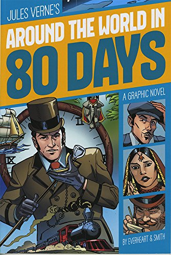 Around the World in 80 Days (Graphic Revolve: Common Core Editions): Verne, Jules