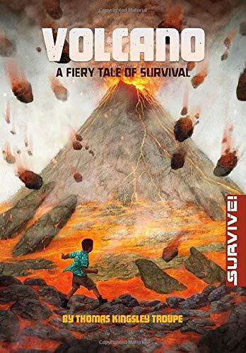 9781496525550: Volcano: A Fiery Tale of Survival (Survive!)