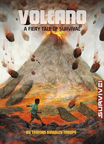 9781496525611: Volcano: A Fiery Tale of Survival (Survive!)