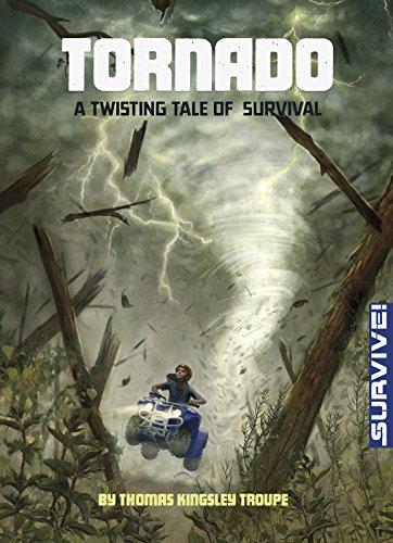 9781496525628: Tornado: A Twisting Tale of Survival (Survive!)