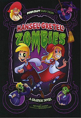 9781496531155: Hansel & Gretel & Zombies: A Graphic Novel (Far Out Fairy Tales)