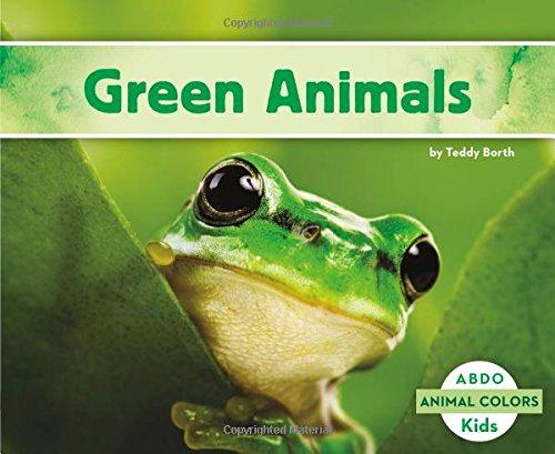 9781496611970: Green Animals (Animal Colors)