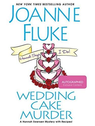 Joanne Fluke Wedding Cake Murder : Exclusive Autographed / Signed Edition: Joanne Fluke