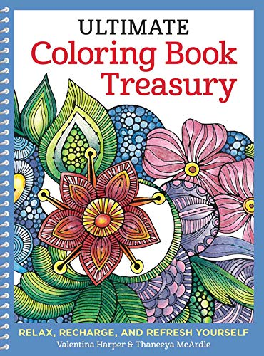 9781497200241: Ultimate Coloring Book Treasury: Relax
