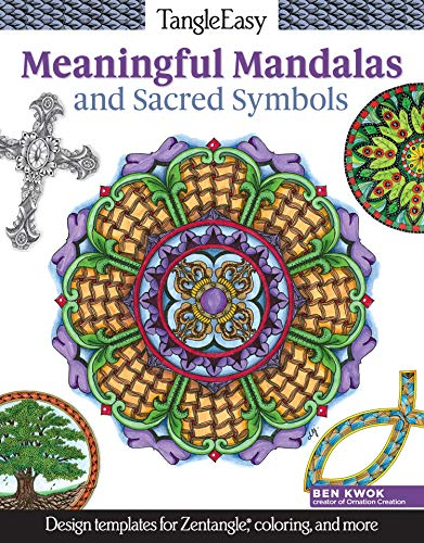 9781497200296: TangleEasy Meaningful Mandalas and Sacred Symbols: Design Templates for Zentangle(R), Coloring, and More
