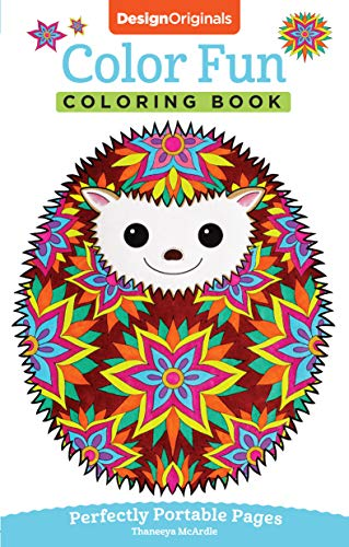Color Fun Coloring Book: On-The-Go!