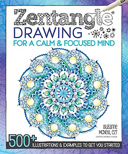 9781497200586: Zentangle Drawing for a Calm & Focused Mind