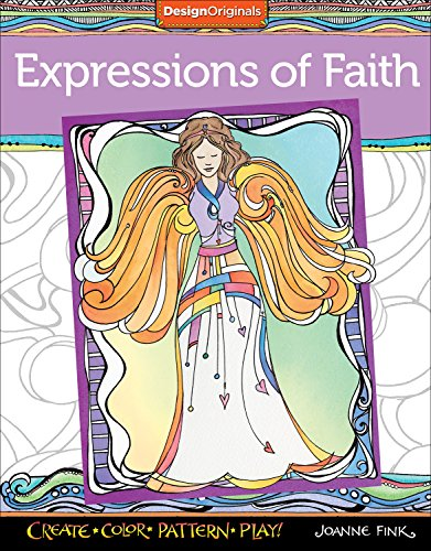 9781497200838: Expressions of Faith Coloring Book: Create, Color, Pattern, Play!