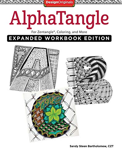 9781497201101: Alphatangle, Expanded Workbook Edition: For Zentangle®, Coloring, and More