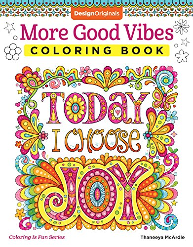 9781497202061: More Good Vibes Coloring Book (Coloring is Fun)