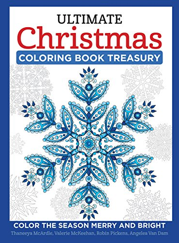 9781497202504: Ultimate Christmas Coloring Book Treasury: Color the Season Merry & Bright (Design Originals) 208 Pages of One-Side-Only Holiday Designs in Spiral Lay-Flat Binding with Extra-Thick, Perforated Paper