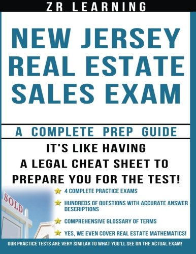 New Jersey Real Estate Sales Exam Questions: Learning LLC, ZR
