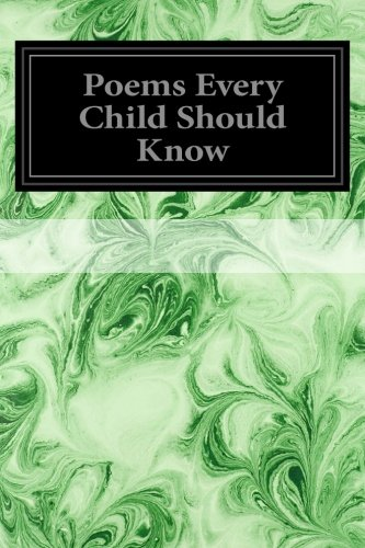 9781497303768: Poems Every Child Should Know