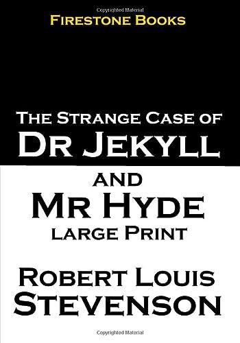 Jekyll and Hyde: Large Print: Stevenson, Robert Louis