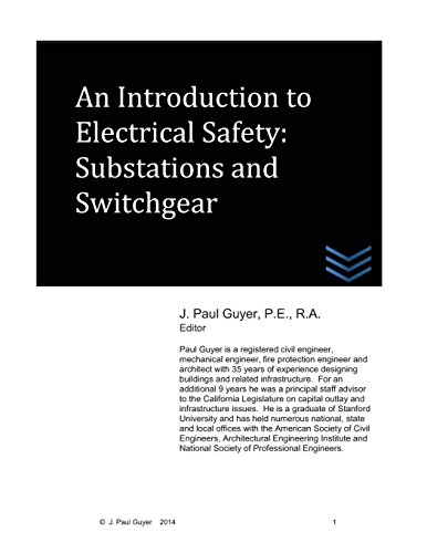 9781497387799: An Introduction to Electrical Safety: Substations and Switchgear