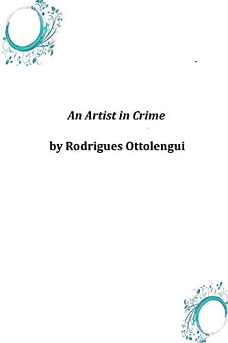 9781497394971: An Artist in Crime