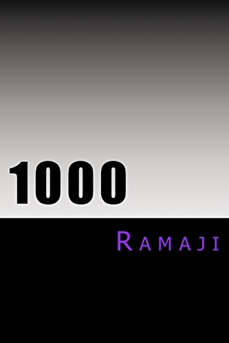 1000: The Levels of Consciousness and a: Ramaji