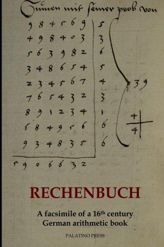 9781497451650: Rechenbuch: A facsimile of a 16th century German arithmetic book
