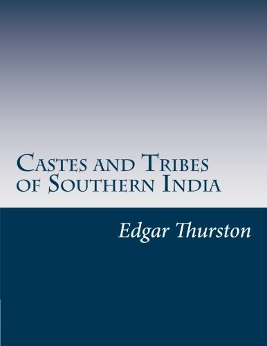 9781497470729: Castes and Tribes of Southern India