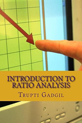 Introduction to Ratio Analysis: Gadgil, Miss Trupti