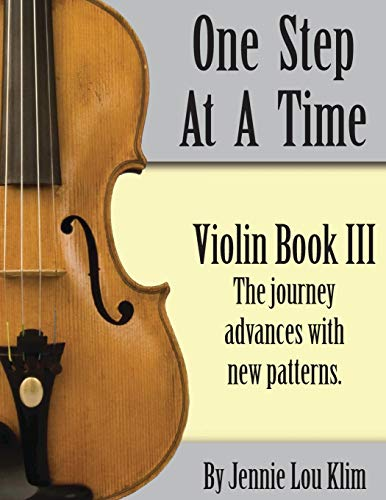 9781497489691: One Step At A Time: Violin Book III