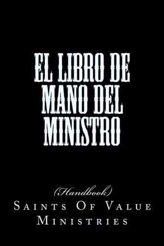 9781497500099: El Libro de Mano del Ministro: Spanish -Minister's Hand Book (Spanish Edition)
