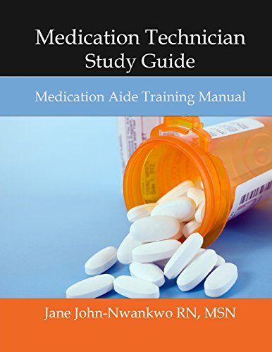 9781497549913: Medication Technician Study Guide: Medication Aide Training Manual (Exam Prep)