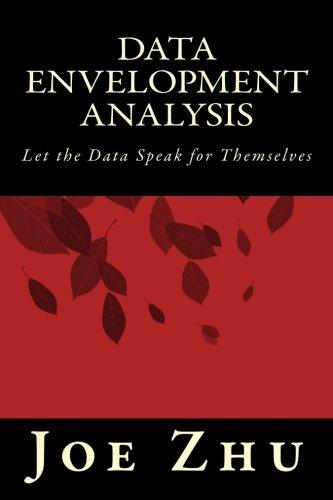 9781497591349: Data Envelopment Analysis: Let the Data Speak for Themselves