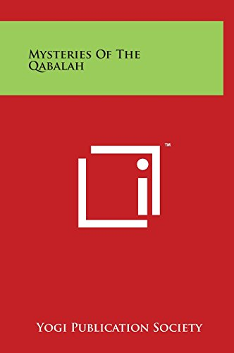 9781497901469: Mysteries of the Qabalah