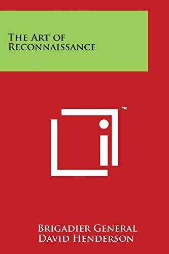 9781497982062: The Art of Reconnaissance