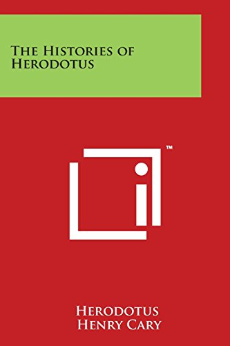 9781498122986: The Histories of Herodotus