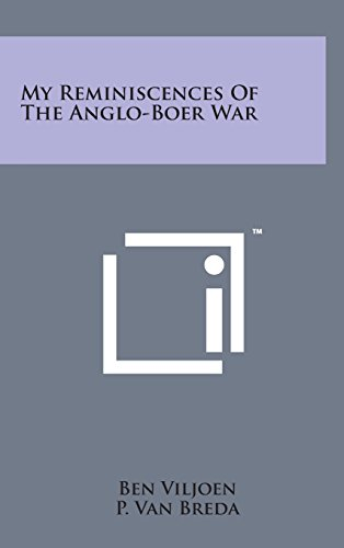 9781498153881: My Reminiscences of the Anglo-Boer War