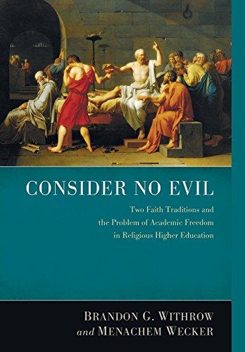 9781498205887: Consider No Evil