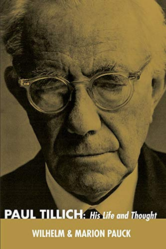 9781498207171: Paul Tillich: His Life and Thought