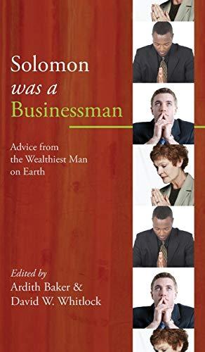9781498251679: Solomon was a Businessman