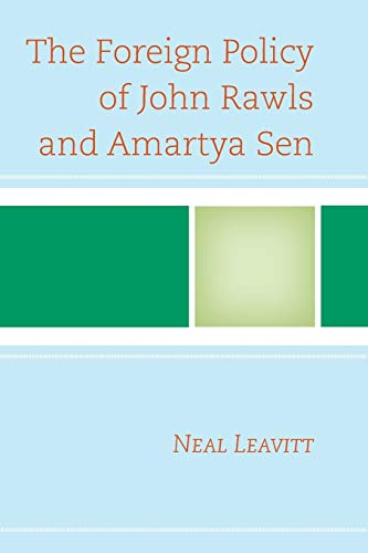 9781498515474: The Foreign Policy of John Rawls and Amartya Sen