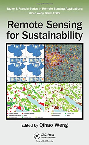 9781498700719: Remote Sensing for Sustainability (Remote Sensing Applications Series)