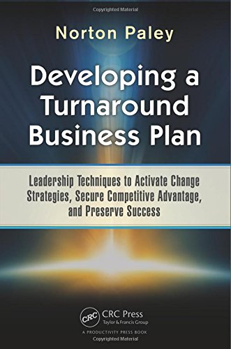 Developing a Turnaround Business Plan, Norton Paley