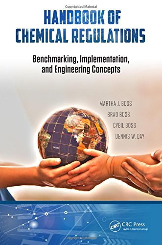 9781498717793: Handbook of Chemical Regulations: Benchmarking, Implementation, and Engineering Concepts